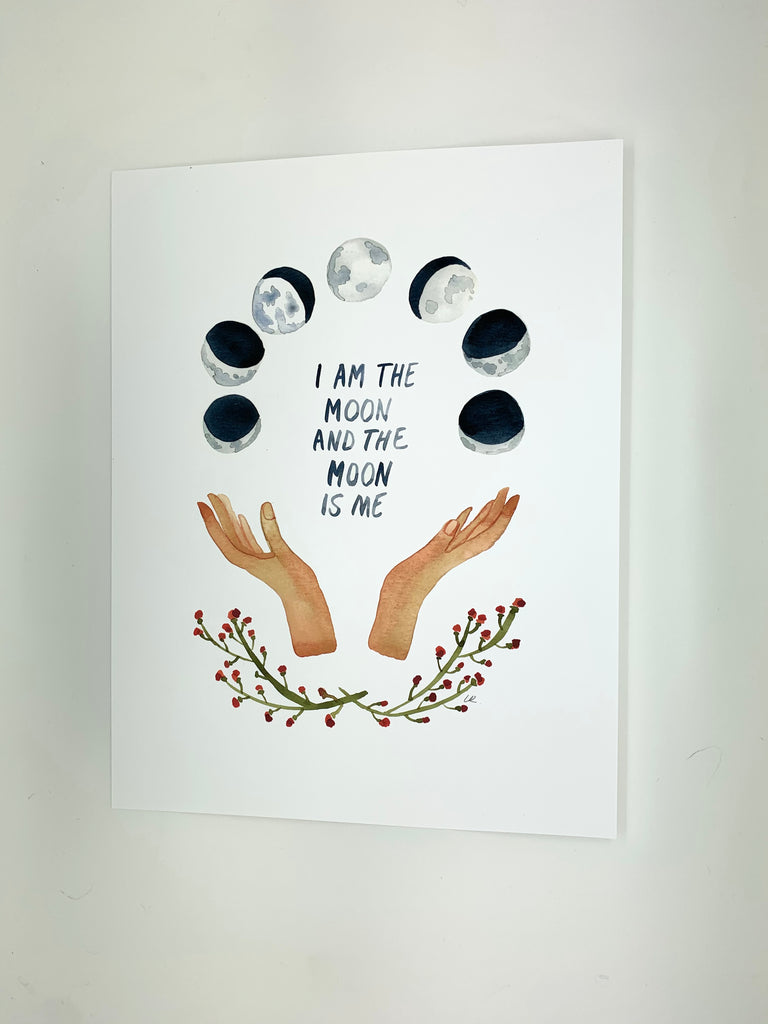 I am the Moon Print