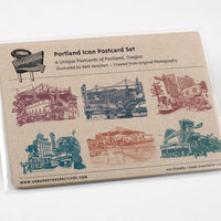 Icons of Portland Postcard Set