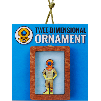 Captain Jules Ornament