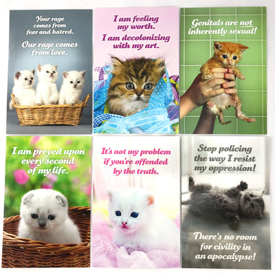Social Justice Kittens Postcard Set Vol 4