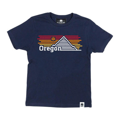 Little Bay Root Oregon Horizons Kids Tee