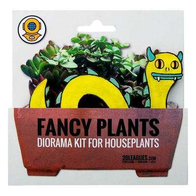Loch Monster Plant Diorama Kit