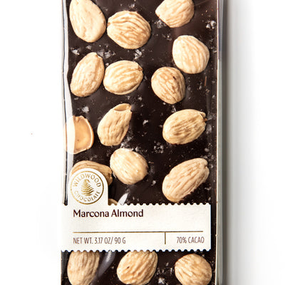 Marcona Almond + Sea Salt Chocolate Bar
