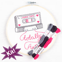 Mixed Tape Embroidery Kit