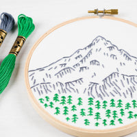 stitch your own Mt. Hood art