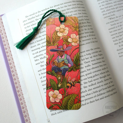 Strawberry Mouse Bookmark