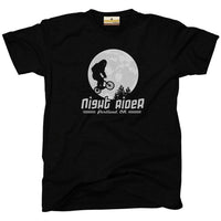 Night Rider Portland Oregon bigfoot sasquatch kids tee