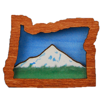 Mt. Hood Oregon Magnet or Ornament