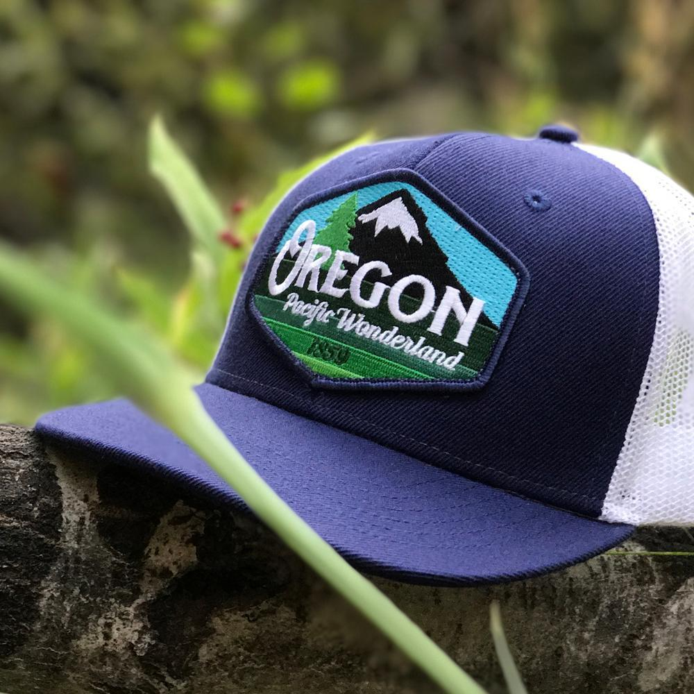 Oregon Pacific Wonderland Trucker Hat