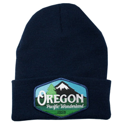 Oregon pacific wonderland knit beanie