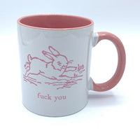 F*** You Cute Bunny Mug