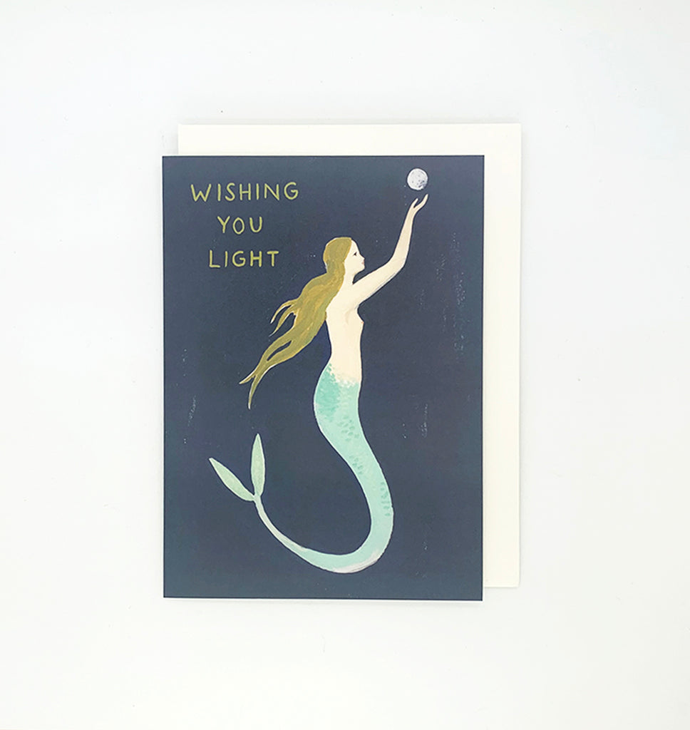 Wishing You Light Card