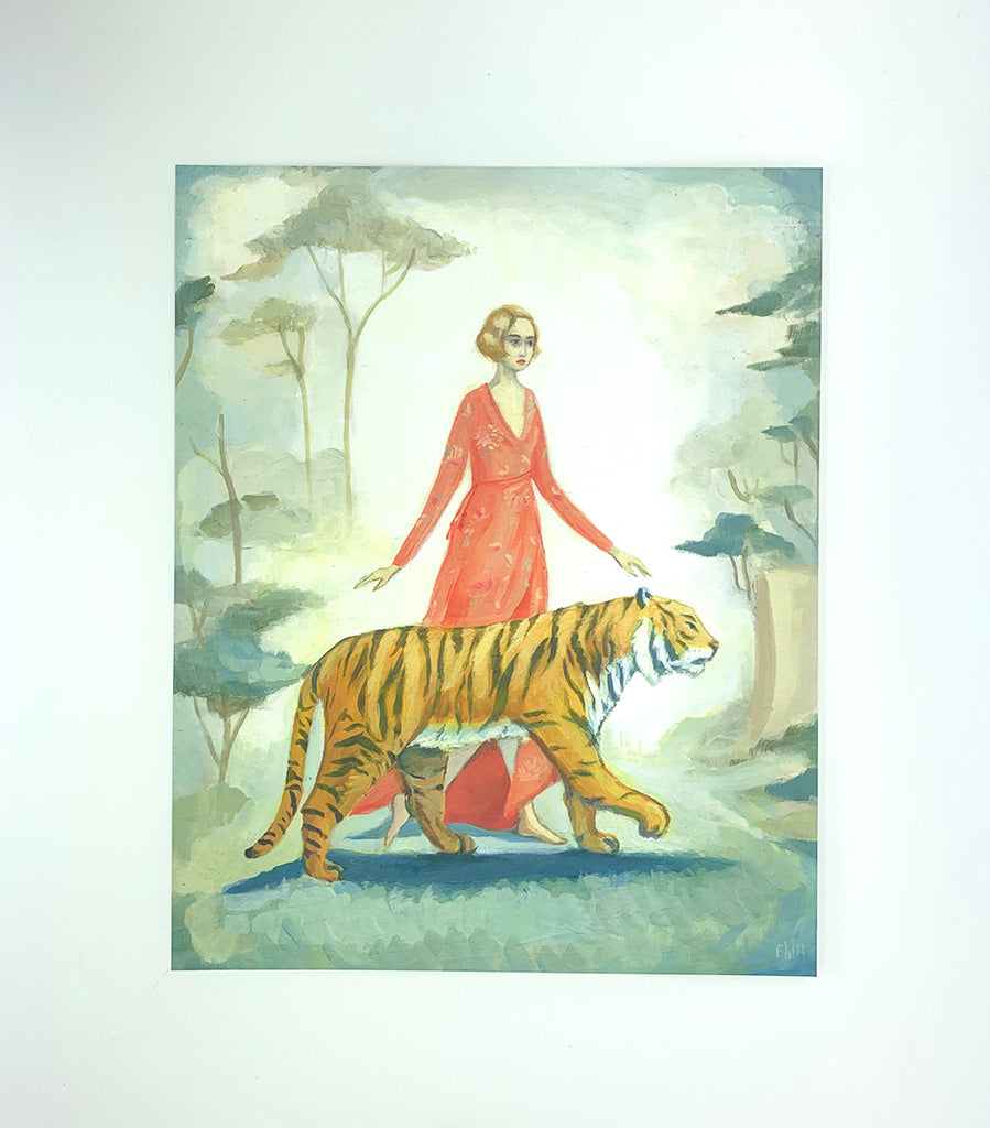 The Tiger's Bride Print