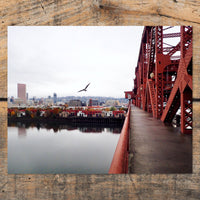 Portland from Broadway Photo Print