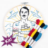 Salty Sailor Embroidery Kit