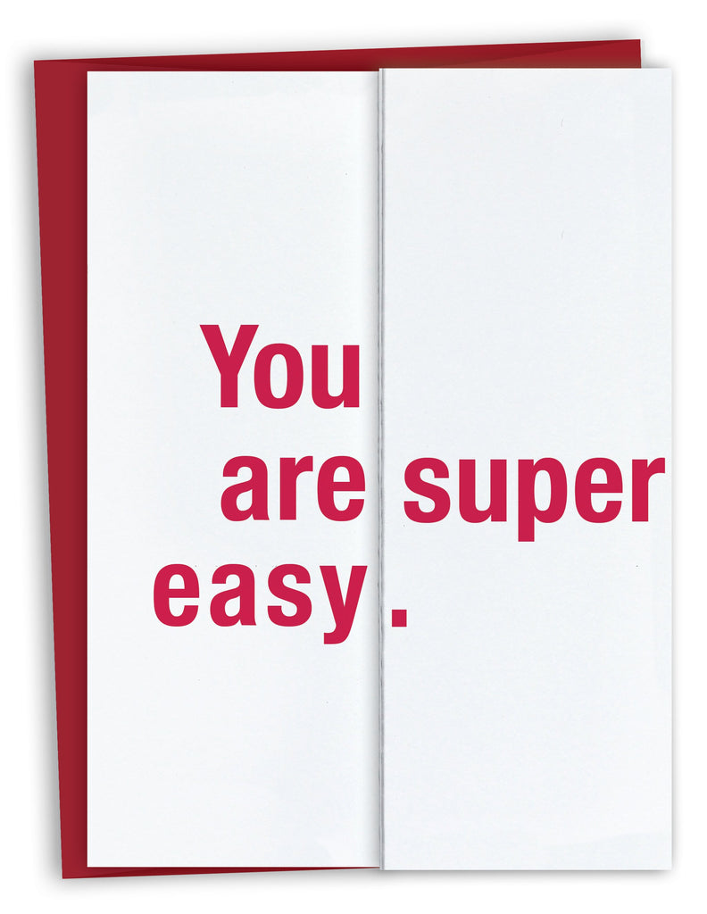 You Are Super Easy Fold Out Card