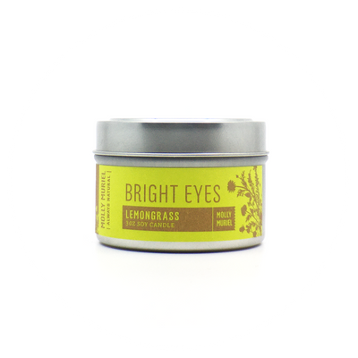 Bright Eyes Lemongrass Travel Candle