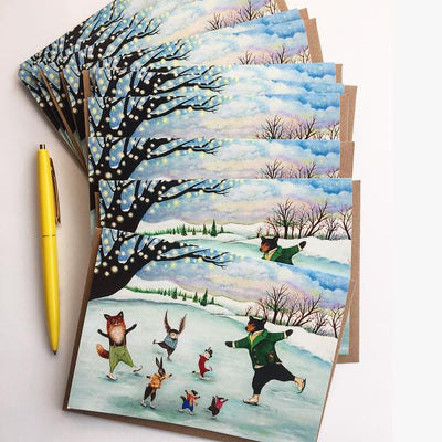 Wondrous Whirl Cards - Set of 12