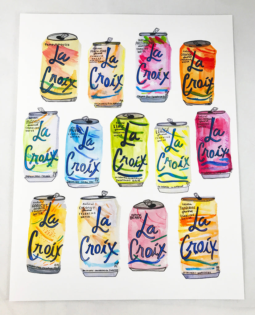 La Croix Print - All Thirteen