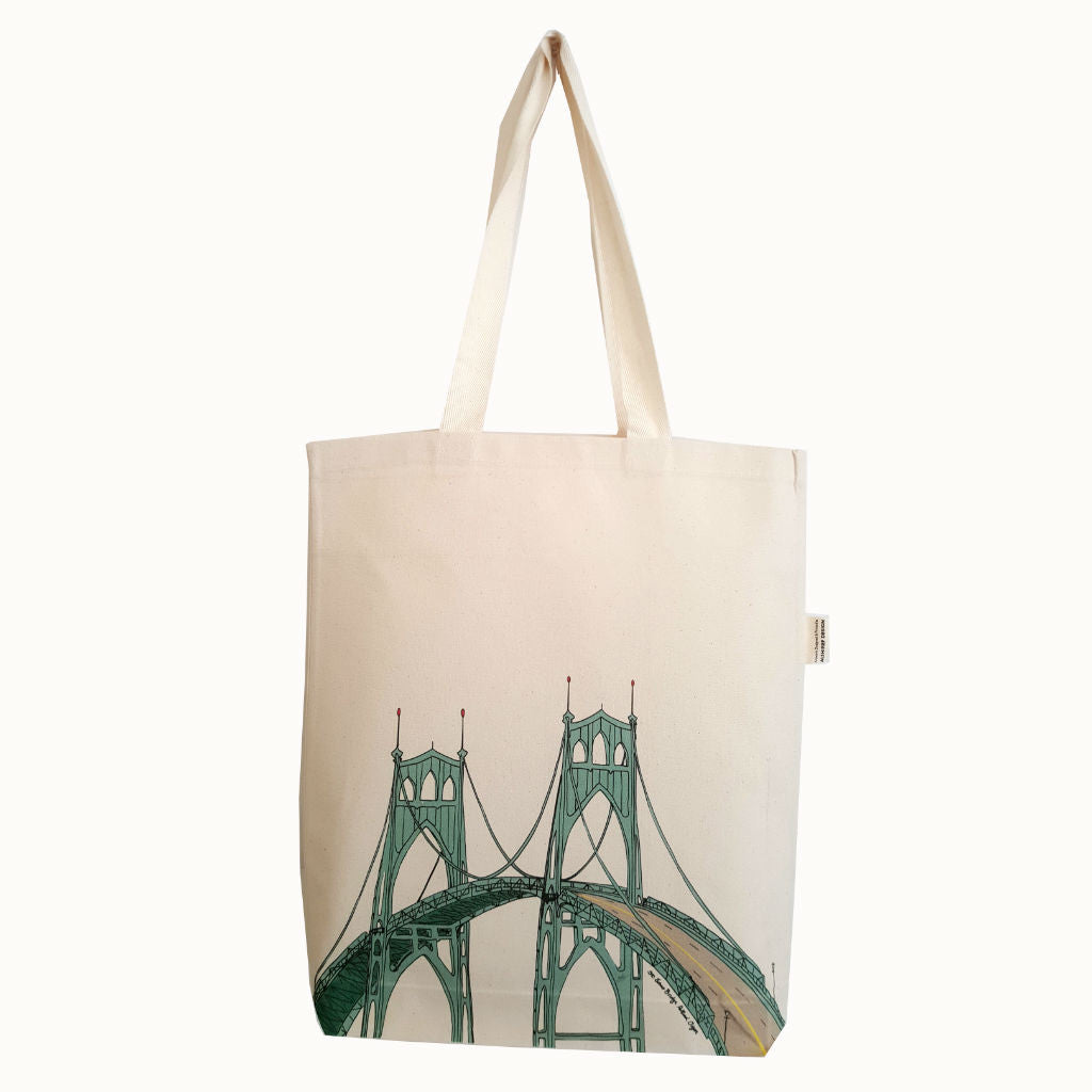 St. Johns Bridge Tote Bag