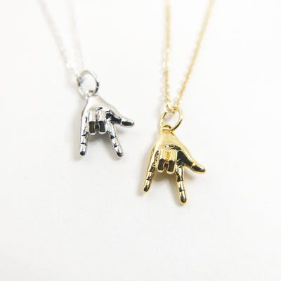 I Love You ASL Necklace