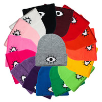 Wokeface third eye beanies