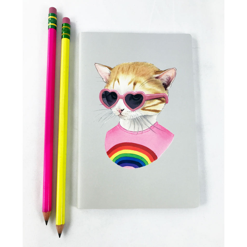 Rainbow Kitten Journal
