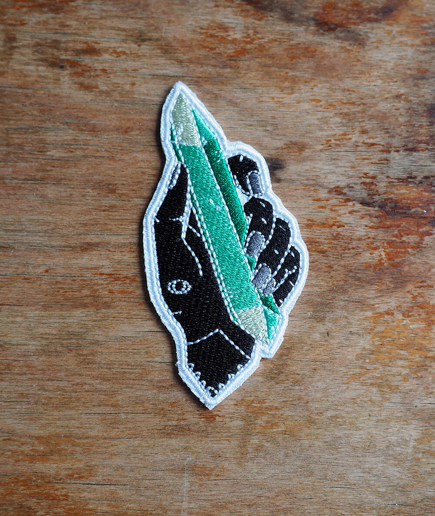 Crystal Power Iron-On Patch