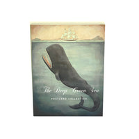 Deep Green Sea Postcard Set