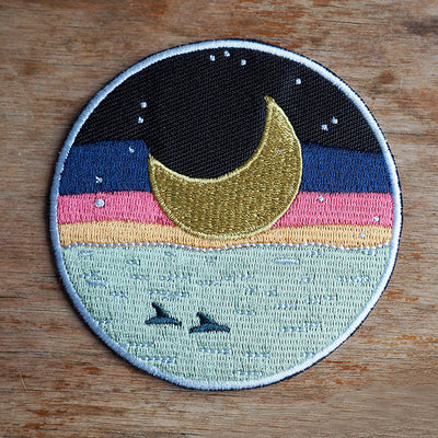 Eclipse Iron-On Patch