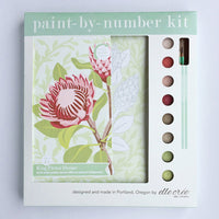 King Protea Blooms Paint by Numbers Kit
