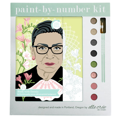 Ruth with Freesia Paint by Numbers Kit