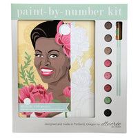 Michelle with Peonies Paint by Numbers Kit