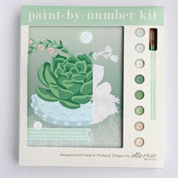 Hobnail Bowl Paint by Numbers Kit