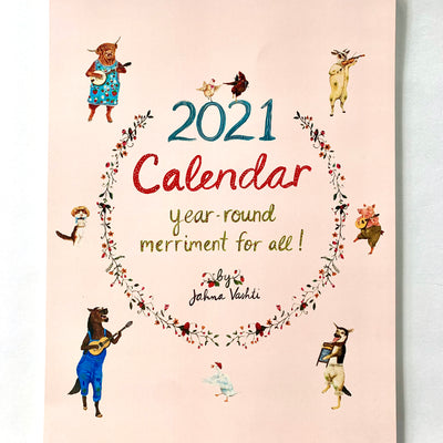 Year Round Merriment for All 2021 Wall Calendar