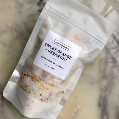 Sweet Orange + Geranium Bath Soak