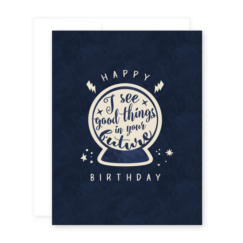 Psychic Birthday Card