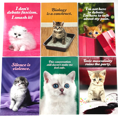 Social Justice Kittens Postcard Set Vol 2