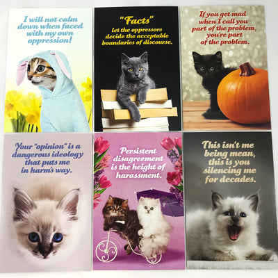 Social Justice Kittens Postcard Set Vol 3