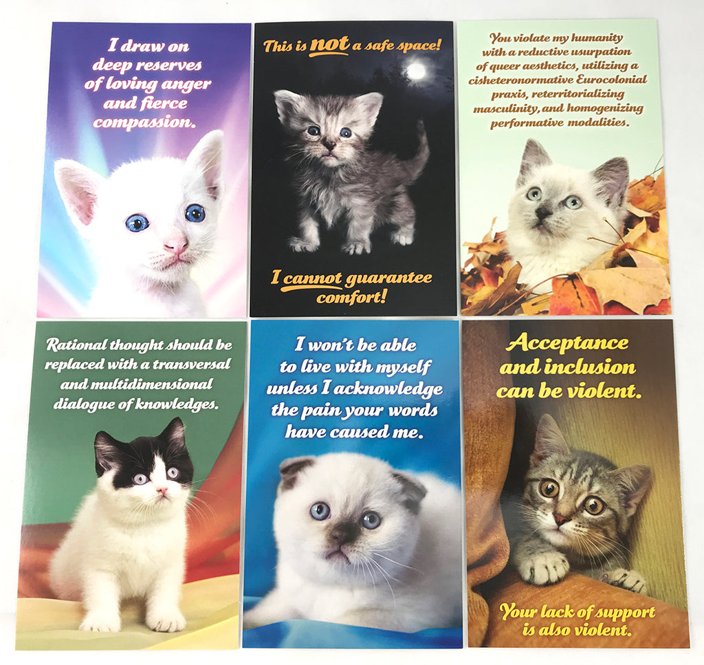 Social Justice Kittens Postcard Set Vol 6