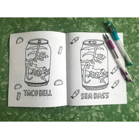 Coloring Book - La Croix Rejected Flavors