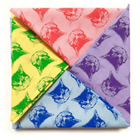 Little Lark Cat Face Bandana