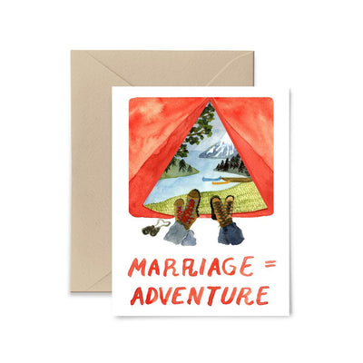 Marriage = Adventure Card