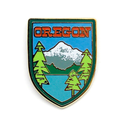 Mt. Hood Oregon enamel pin