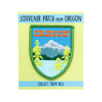 Mt. Hood souvenir iron-on patch Oregon
