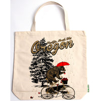 Pacific NorthWet Oregon Bear tote bag