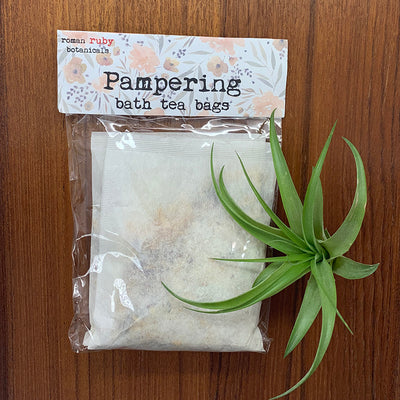 Pampering Bath Tea Bags