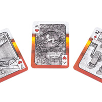 illustrated playing cards - portland breweries