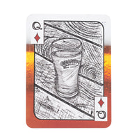 portland breweries single playing card