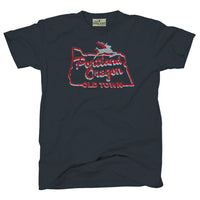 Kids Youth White Stag Portland Oregon tee